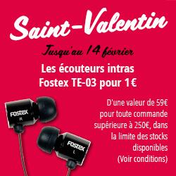 Offre promotionelle Saint-Valentin
