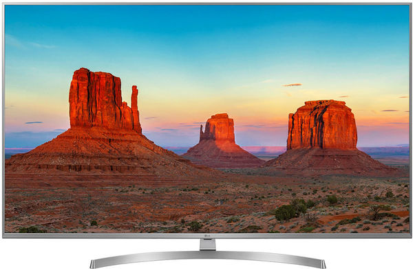 Le téléviseur UHD 4K LG 55UK7550.