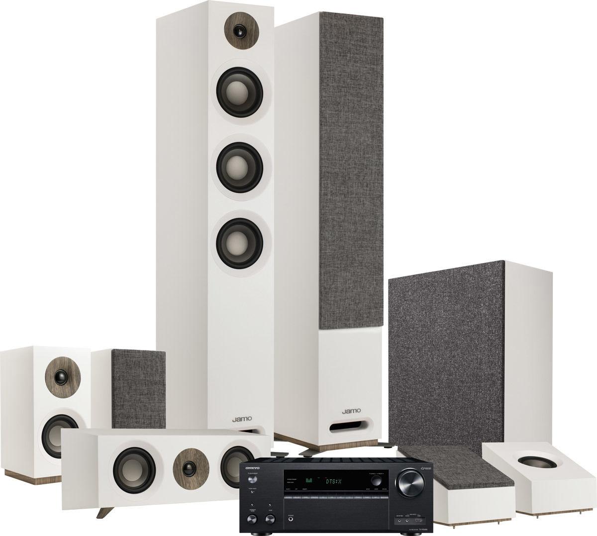 TX-NR686E + S809 HCS 5 1 2 Blanc