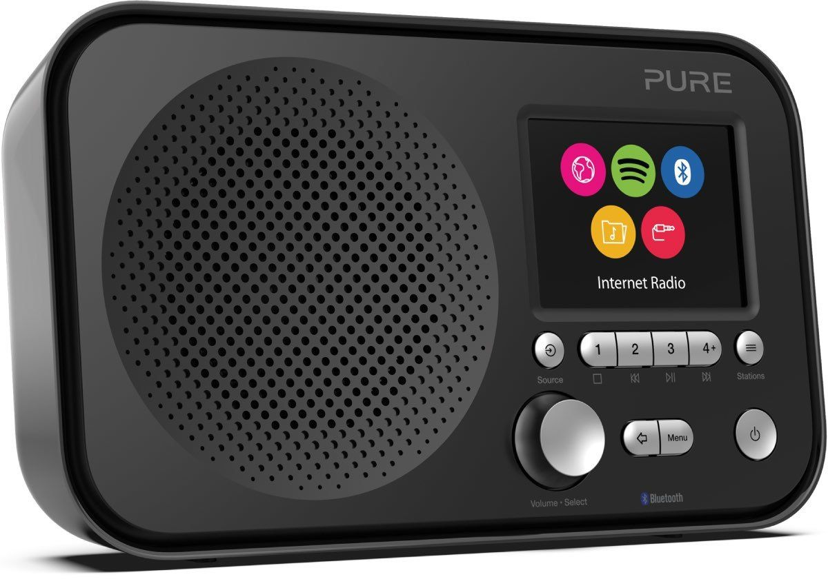 Radios Internet Pure Elan IR5 Noir