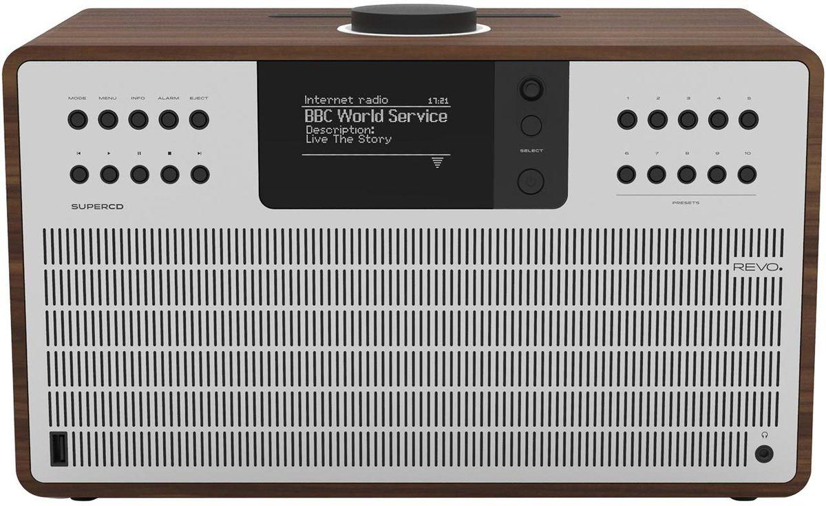 Radios Internet Revo SuperCD Noyer/Alu