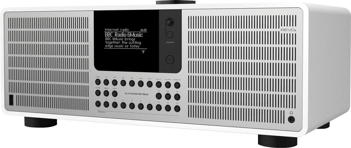 Radios Internet Revo SuperSystem Blanc Mat/Alu