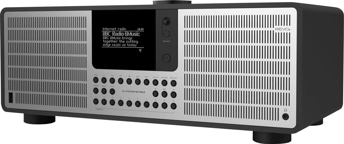 Radios Internet Revo SuperSystem Noir Mat/Alu