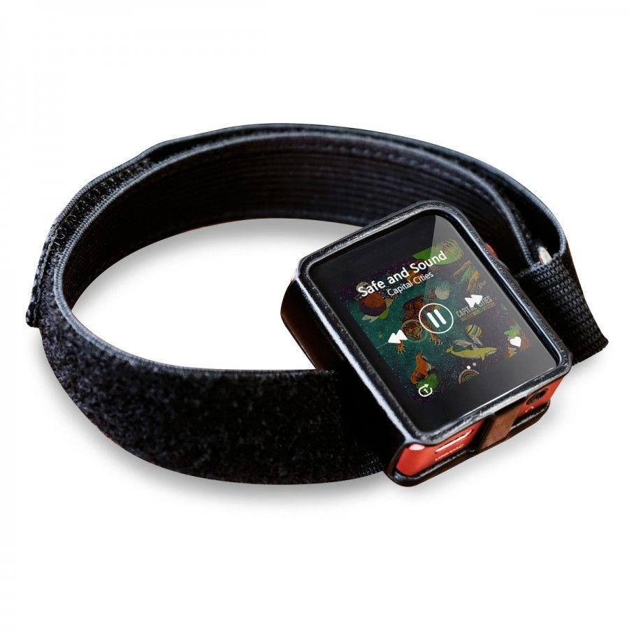 Étuis et protections Shanling Housse de Protection Similicuir Noir avec Bracelet pour Shanling M0