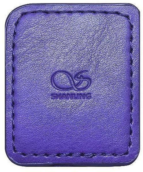 Étuis et protections Shanling Housse de protection simili cuir Violet pour Shanling M0