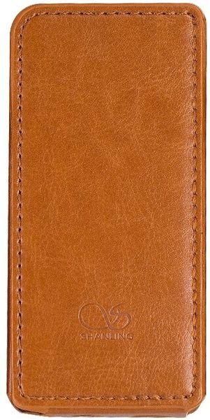 Étuis et protections Shanling Housse de protection simili cuir Marron pour Shanling M5s