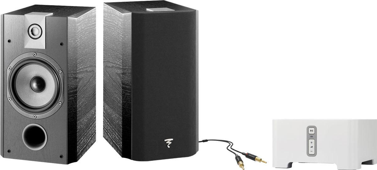 Chaînes connectées SONOS Connect Amp + Chorus 706V Noir