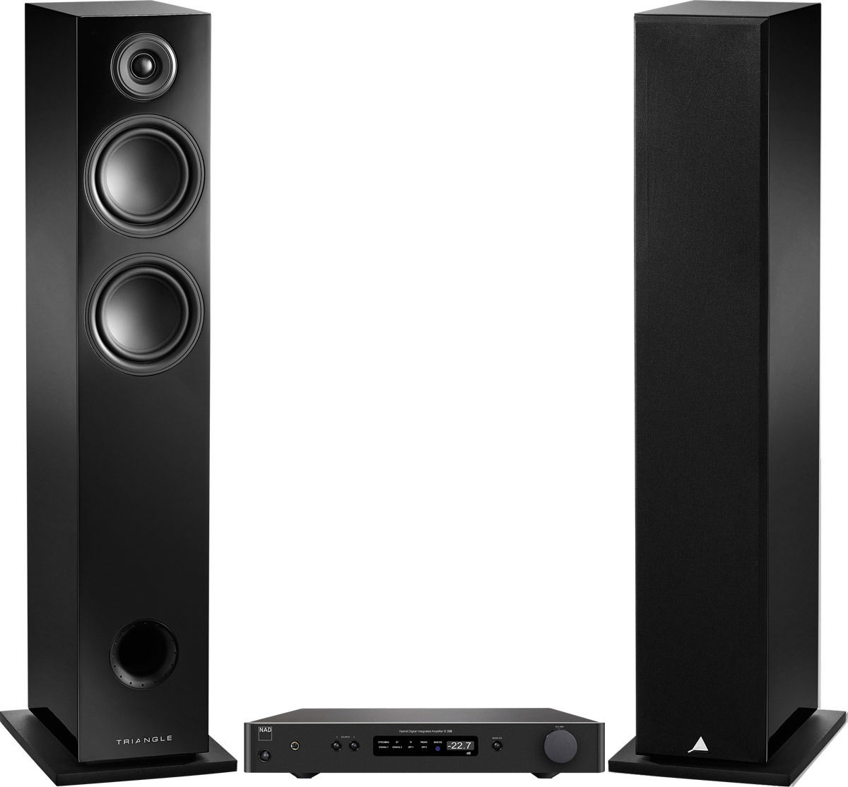 C338 + LN05 Noir + CL250 Classic (5 m)