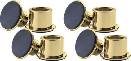 XXL Air Cylinder Gold (lot de 4)
