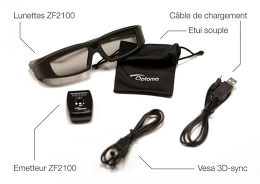 Optoma Kit ZF2100 System Vue Accessoire 1