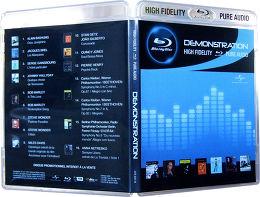 Blu-ray Démo Pure Audio Vue arrière