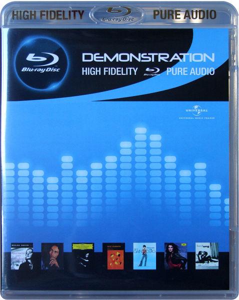 Blu-ray Démo Pure Audio Vue principale