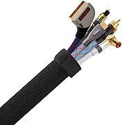 Real Cable Cache c�bles CC88NR Noir