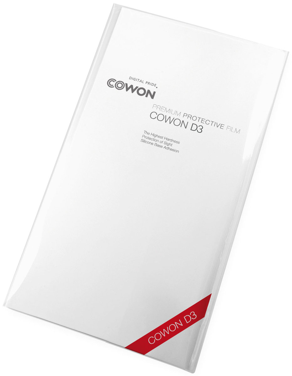 Étuis et protections Cowon Film de protection LCD/ coque D3