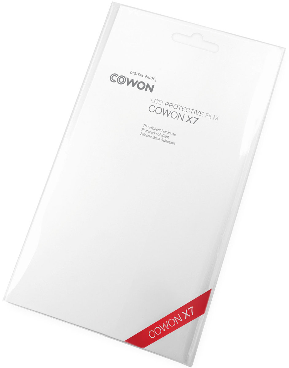 Étuis et protections Cowon Film protection LCD X7