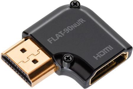 Audioquest HDMI coudé à droite Vue principale