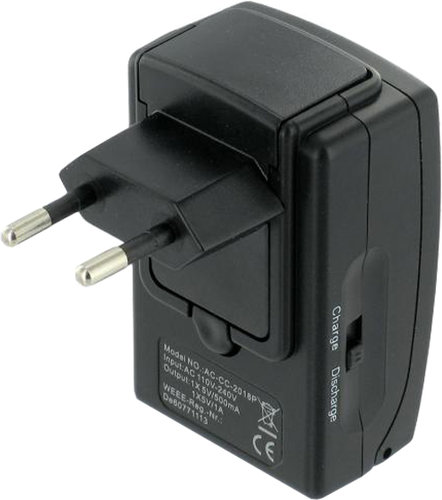 Chargeur secteur USB Cowon Vue principale