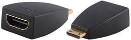HDMI Type C m�le / HDMI type A femelle