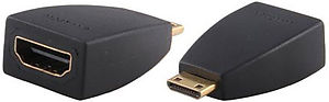 HDMI Type C m�le / HDMI type A femelle Vue principale