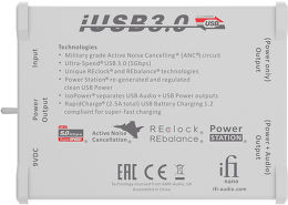 iFi Audio Nano iUSB 3.0 Vue dessous