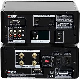 Advance Acoustic EZY-80 Vue arrière