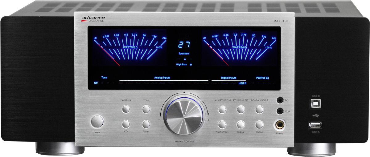 advance max 450 amplis hi fi st r o son vid. Black Bedroom Furniture Sets. Home Design Ideas