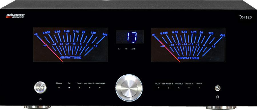 advance acoustic x i120 amplis hi fi st r o son vid. Black Bedroom Furniture Sets. Home Design Ideas