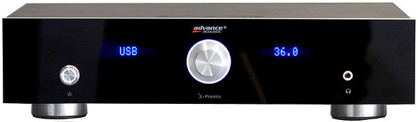 Advance Acoustic X-Preamp Vue principale