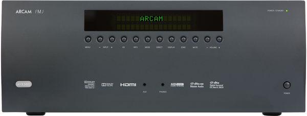 Arcam FMJ AVR380 Vue principale