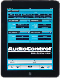 Audiocontrol Concert AVR-6 Application