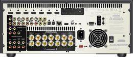 Audiocontrol Concert AVR-7 Vue arrière