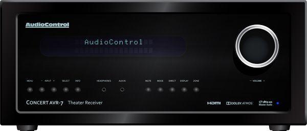 Audiocontrol Concert AVR-7 Vue principale