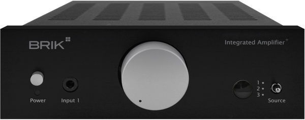 Brik Integrated Amplifier Plus Vue principale
