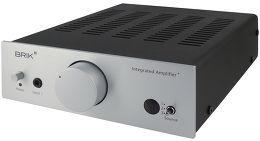 Brik Integrated Amplifier Plus Vue 3/4 droite