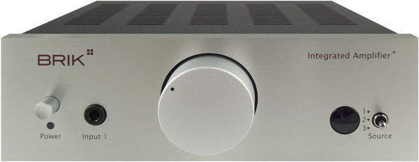 Brik Integrated Amplifier Plus Vue principale