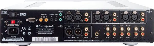 Cambridge Audio Azur 851E face arrière