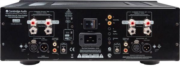 Cambridge Audio 851W face arrière