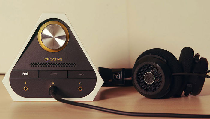 Creative Sound Blaster X7 Limited Edition : ampli casque audiophile