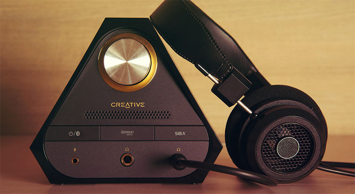 Creative Sound Blaster X7 : ampli casque audiophile