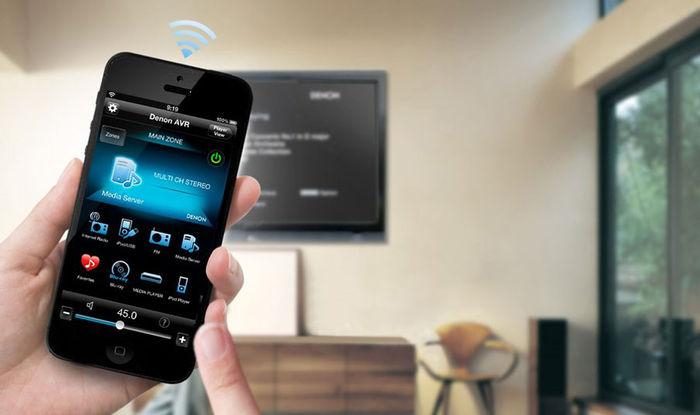 Denon AVR-X1100W - Denon Control App