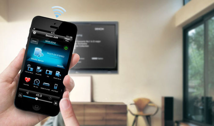 Denon AVR-X2100W - Denon Control App