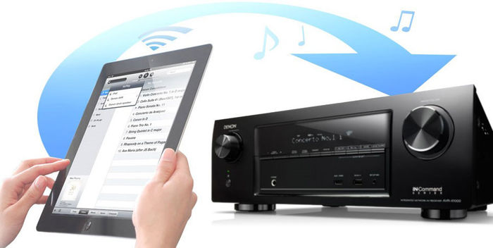 Denon AVR-X3100W - AirPlay