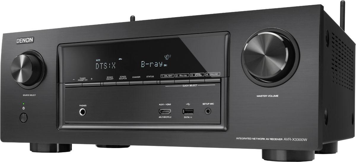 Amplificateur Home-Cinéma Denon AVR-X3300W