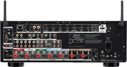 Denon AVR-X3300W Vue arrière