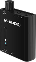 M-Audio Bass Traveler Vue 3/4 droite