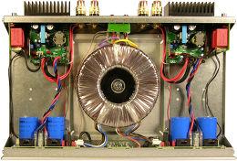 Micromega PW-250 Vue intérieure