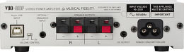 Musical Fidelity V90-AMP Vue arrière