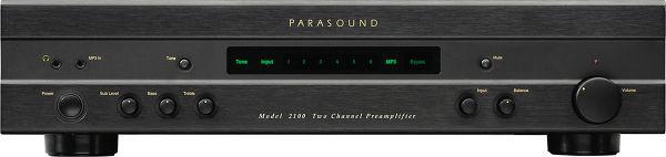 Parasound Model 2100 Vue principale