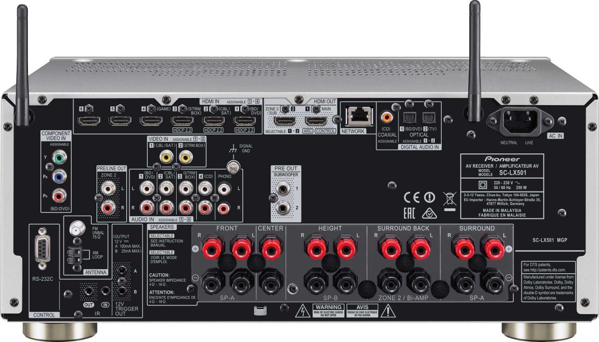 Pioneer SC-LX501
