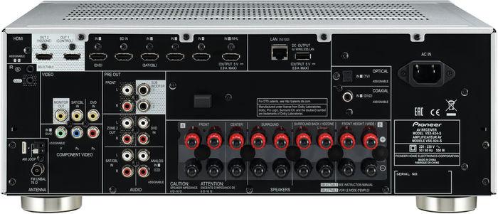 Pioneer VSX-924 : Up-Scaling 4K et HDMI 2.0
